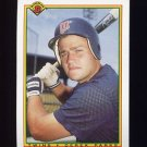 1990 Bowman Baseball #422 Derek Parks RC - Minnesota Twins