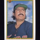 1990 Bowman Baseball #410 Juan Berenguer - Minnesota Twins