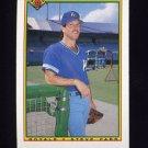 1990 Bowman Baseball #366 Steve Farr - Kansas City Royals