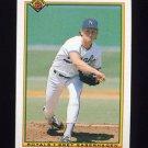 1990 Bowman Baseball #364 Bret Saberhagen - Kansas City Royals