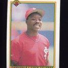1990 Bowman Baseball #198 Vince Coleman - St. Louis Cardinals