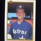 1990 Bowman Baseball #075 Dave Rohde RC - Houston Astros