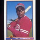 1991 Bowman Baseball #670 Billy Hatcher - Cincinnati Reds