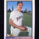 1991 Bowman Baseball #660 Larry Andersen - San Diego Padres