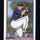 1991 Bowman Baseball #568 Kent Mercker - Atlanta Braves