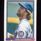 1991 Bowman Baseball #430 Rick Sutcliffe - Chicago Cubs