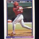1991 Bowman Baseball #403 Pedro Guerrero - St. Louis Cardinals