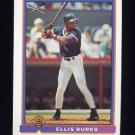 1991 Bowman Baseball #373 Ellis Burks SLUG - Boston Red Sox