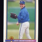 1991 Bowman Baseball #308 Jeff Montgomery - Kansas City Royals