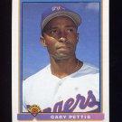 1991 Bowman Baseball #276 Gary Pettis - Texas Rangers
