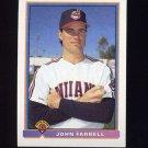 1991 Bowman Baseball #082 John Farrell - Cleveland Indians