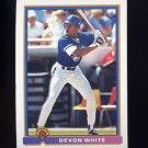 1991 Bowman Baseball #030 Devon White - Toronto Blue Jays