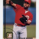 1994 Bowman Baseball #430 Willie Greene - Cincinnati Reds