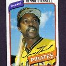 1980 Topps Baseball #501 Rennie Stennett - Pittsburgh Pirates VgEx