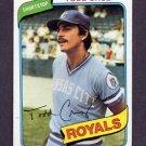 1980 Topps Baseball #492 Todd Cruz RC - Kansas City Royals