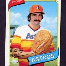 1980 Topps Baseball #469 Randy Niemann RC - Houston Astros