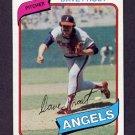 1980 Topps Baseball #423 Dave Frost - California Angels