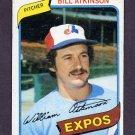 1980 Topps Baseball #415 Bill Atkinson - Montreal Expos