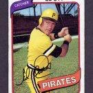 1980 Topps Baseball #383 Ed Ott - Pittsburgh Pirates G