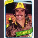1980 Topps Baseball #339 John D'Acquisto - San Diego Padres