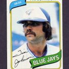 1980 Topps Baseball #297 Tim Johnson - Toronto Blue Jays