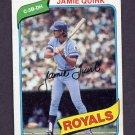 1980 Topps Baseball #248 Jamie Quirk - Kansas City Royals