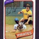 1980 Topps Baseball #246 Tim Foli - Pittsburgh Pirates G