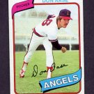 1980 Topps Baseball #239 Don Aase - California Angels