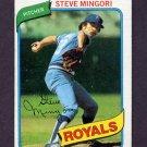 1980 Topps Baseball #219 Steve Mingori - Kansas City Royals