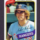1980 Topps Baseball #173 John Henry Johnson - Texas Rangers