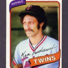 1980 Topps Baseball #088 Ken Landreaux - Minnesota Twins