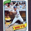 1980 Topps Baseball #076 John Stearns - New York Mets