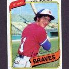 1980 Topps Baseball #064 Joe Nolan - Atlanta Braves