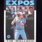 1986 Topps Baseball #685 Tim Wallach - Montreal Expos