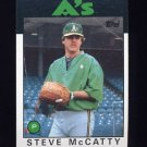1986 Topps Baseball #624 Steve McCatty - Oakland A's