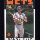 1986 Topps Baseball #619 Danny Heep - New York Mets