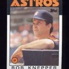 1986 Topps Baseball #590 Bob Knepper - Houston Astros