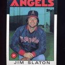 1986 Topps Baseball #579 Jim Slaton - California Angels NM-M