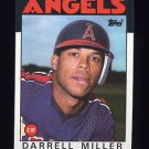 1986 Topps Baseball #524 Darrell Miller - California Angels