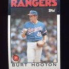1986 Topps Baseball #454 Burt Hooton - Texas Rangers