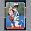 1987 Donruss Baseball #039 Eric Bell RC - Baltimore Orioles