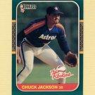 1987 Donruss Rookies Baseball #55 Chuck Jackson - Houston Astros