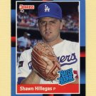 1988 Donruss Baseball #035 Shawn Hillegas RR - Los Angeles Dodgers