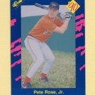 1990 Classic Blue Baseball #075 Pete Rose Jr. - Baltimore Orioles
