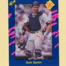 1990 Classic Blue Baseball #025 Bob Geren - New York Yankees