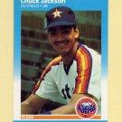 1987 Fleer Update Baseball #047 Chuck Jackson - Houston Astros