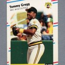 1988 Fleer Update Baseball #113 Tommy Gregg - Pittsburgh Pirates