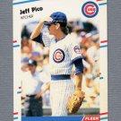1988 Fleer Update Baseball #080 Jeff Pico - Chicago Cubs