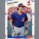 1988 Fleer Baseball #611 Tommy Hinzo - Cleveland Indians