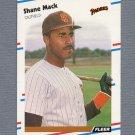 1988 Fleer Baseball #590 Shane Mack - San Diego Padres